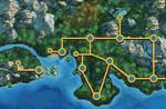 Johto BW styled map