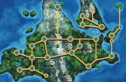 Sinnoh BW styled map by Pokemon-Diamond