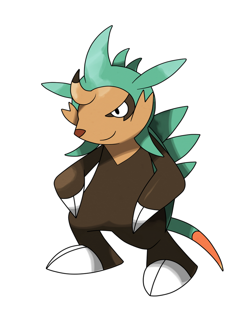 Pokemon X And Y Chespin Evolution Chespin evolution by P...