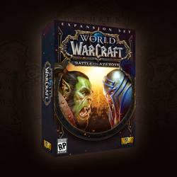 WoW: Battle for Azeroth mockup artwork