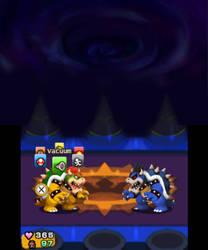 Dark Bowser battle 3DS re-creation