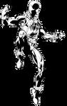 Scarlet Spider pixel art V.2