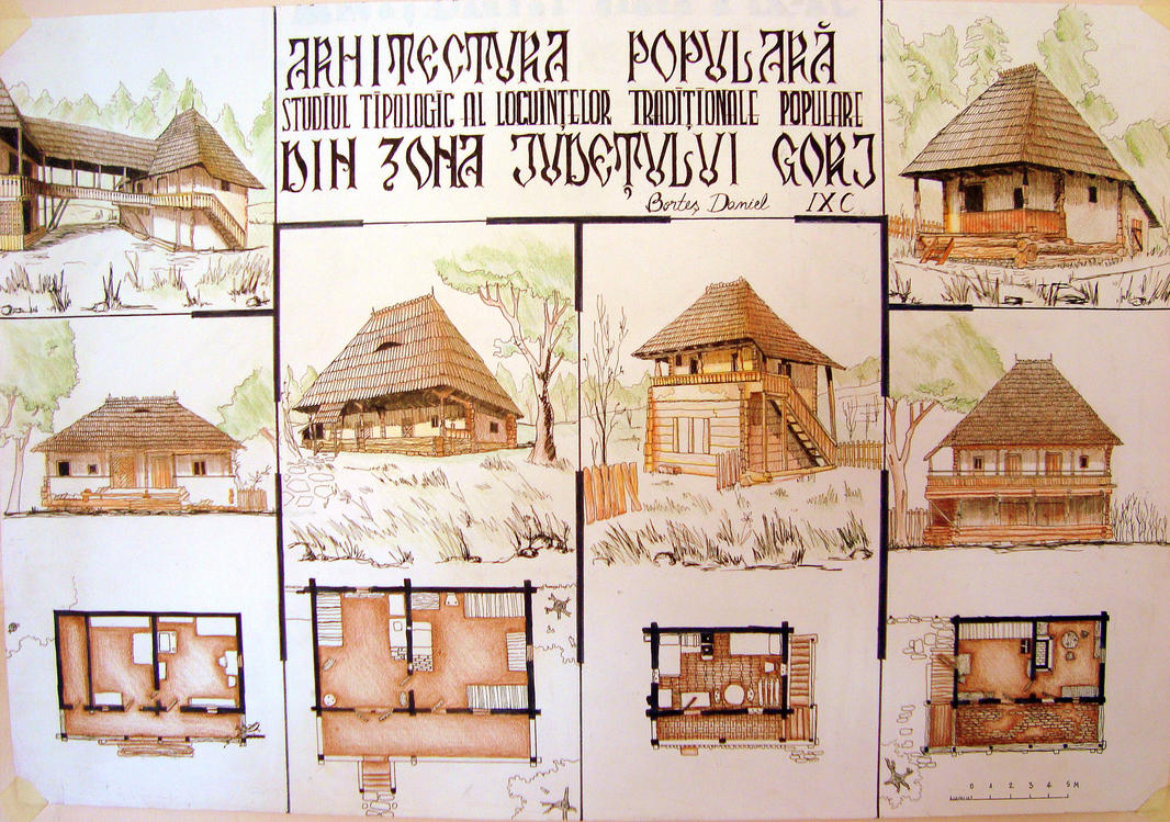 Traditional architecture ro by blupaint on deviantart for French country architecture characteristics