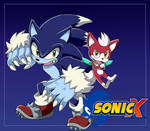 sonic unleashed  Style Sonic X