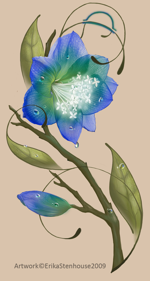 Dew Flower by Black--Sh33p