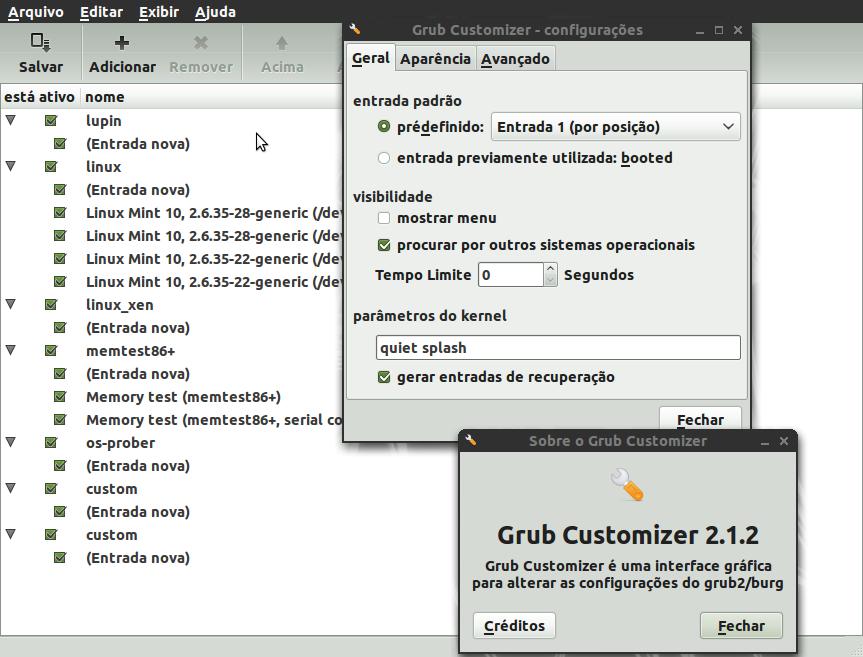 Grub Customizer by malvescardoso