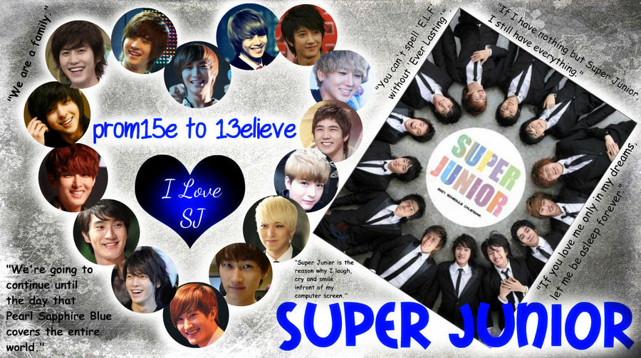 Super Junior Wallpaper Favourite by xCreativeSpiritx on DeviantArt