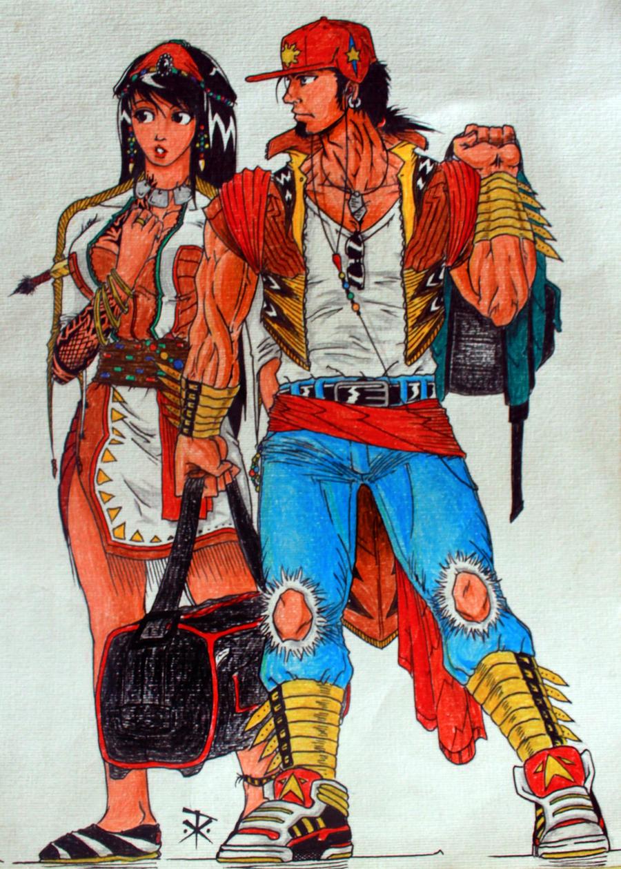 Filipino tribal themed clothes - 274.0KB