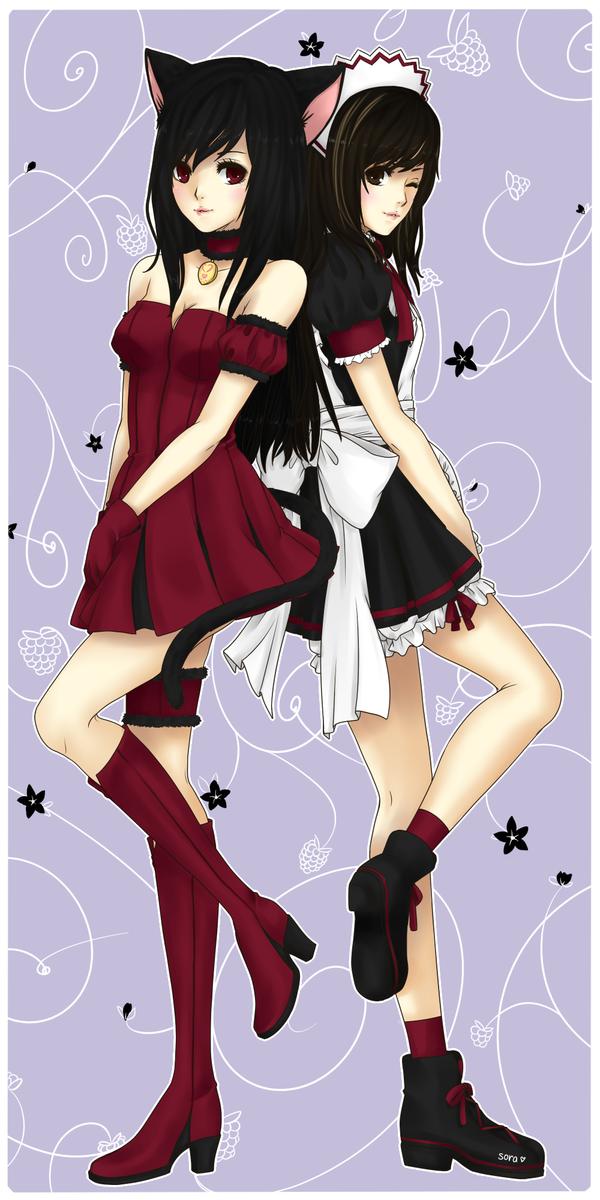 Two Sides of Raspberry by sorahanaki