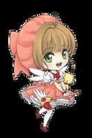 Happy birthday Sakura Kinomoto by sorahanaki