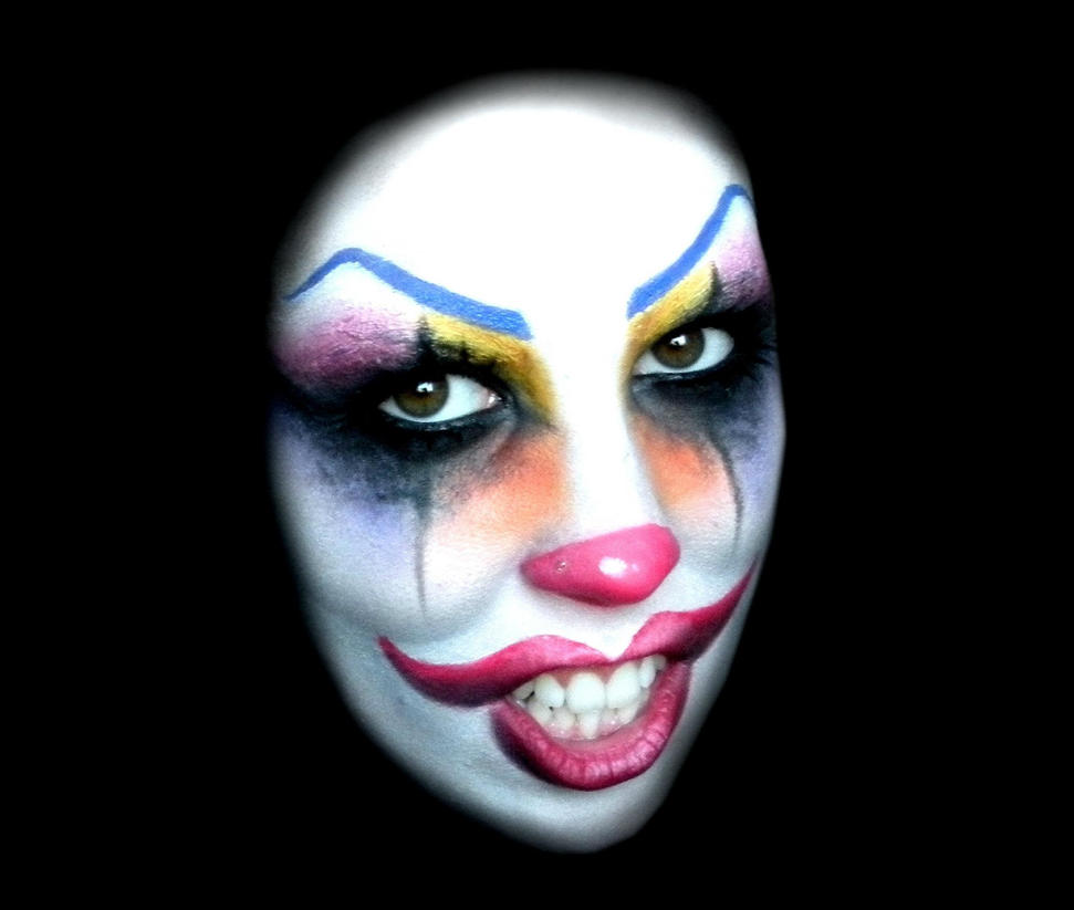 Happy Clown Makeup Idea For Halloween By AleMeller13 On DeviantArt