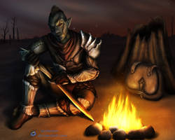 By the Campfire by Quaenam
