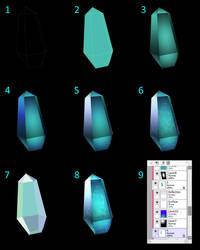 Crystal Tutorial (SAI v2) by Quaenam
