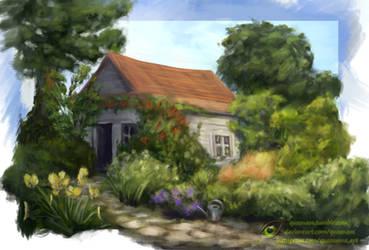 Overgrown Cottage