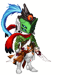 Mercenary Gallade Gijinka - WIP by chaoticlatina