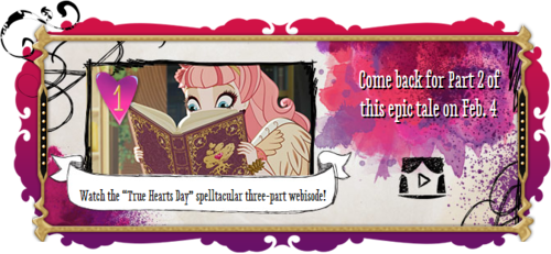 Ever After High: True Hearts Day by chaoticlatina