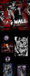 TAGWALL #1 - BOKU NO HERO AND BLEACH by StudioTrinity