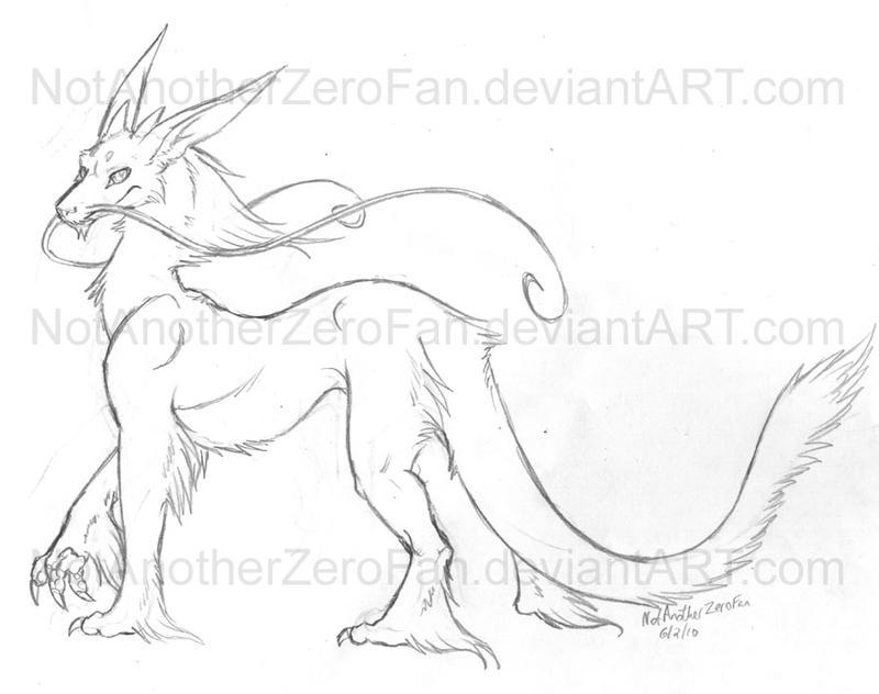 Eastern dragons are fun 2 draw by NotAnotherZeroFan on DeviantArt