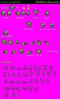 Megaman: Bit of Destiny - Link