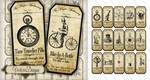 Printable Steampunk Apothecary Labels