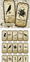 Printable Magic Animals Apothecary Labels