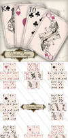Printable Alice in Wonderland Playing Cards