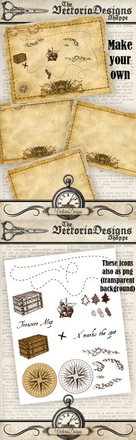 Assemble your own Treasure Map
