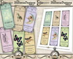 Printable Faerie Apothecary Labels