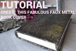 Aluminum Foil Book Cover