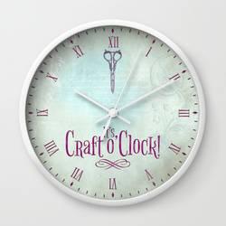 It's Craft o'Clock! by VectoriaDesigns