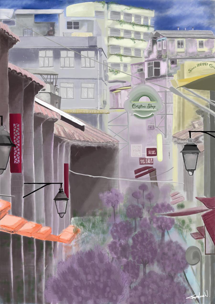 A Crowded City by cristinaw