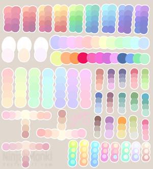 Pastel Colour Palette