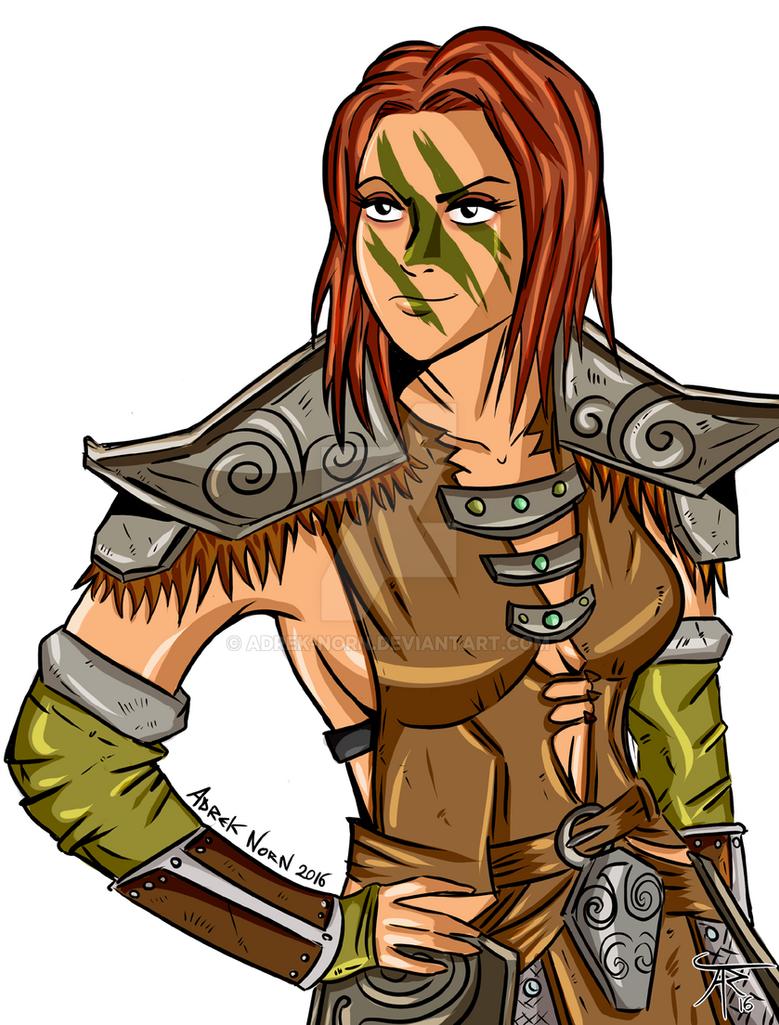 Aela the Huntress - Skyrim by Adrek-Norn on DeviantArt