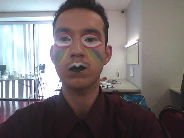 Make Up Animal High Fashion Macaw by Malonluvr