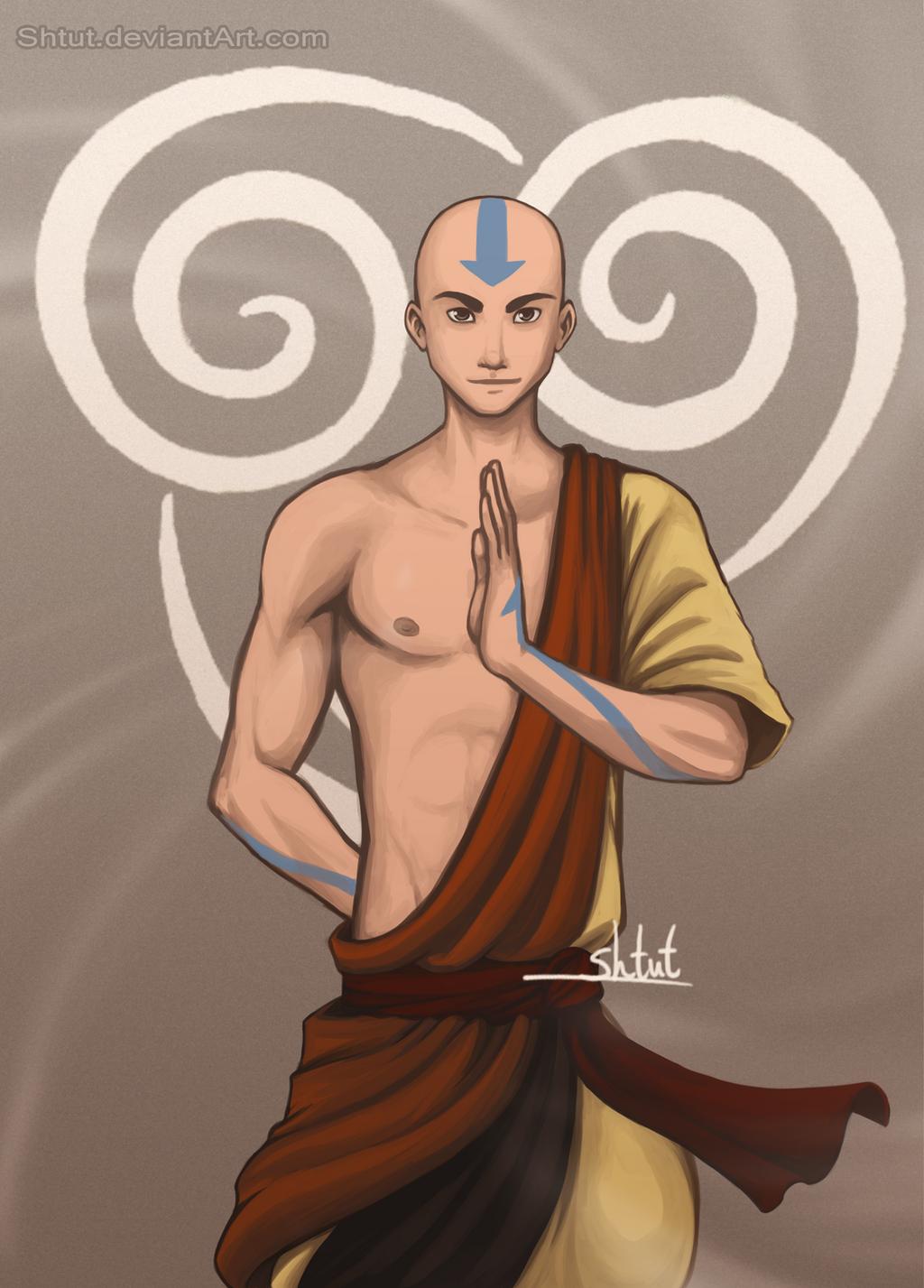Aang by Shtut