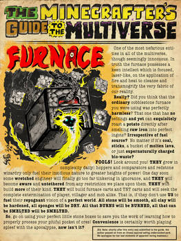 The Minecrafter's Guide to the Multiverse: Furnace