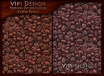 Patterns for photoshop - Coffee beans