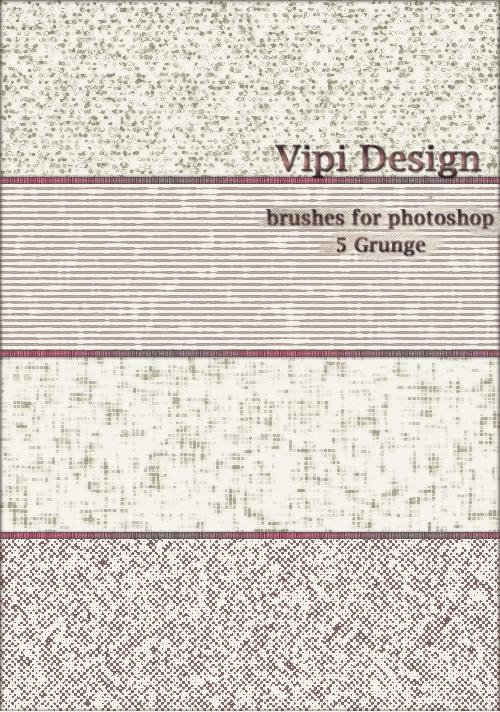 Brushes - 5 Grunge by elixa-geg