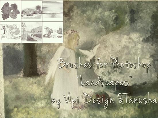 landscapes Brushes