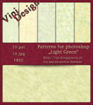 Patterns - Light Green