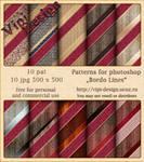 Bordo Lines Patterns