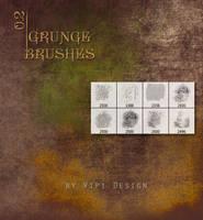 Grunge Brushes 0,2 by elixa-geg