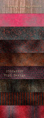 9 Grunge Backgrounds