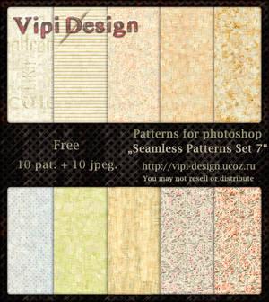 Seamless Patterns Set 7