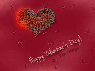 Happy Valentines Day by elixa-geg