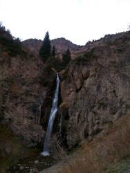 Waterfall Kegety, Kyrgyzstan by elixa-geg