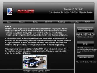 Paint.Net Webpage Design