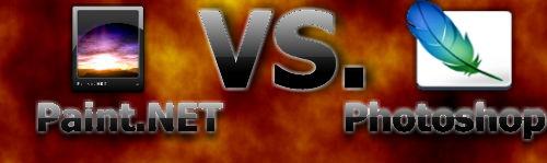 Paint.net vs. Photoshop