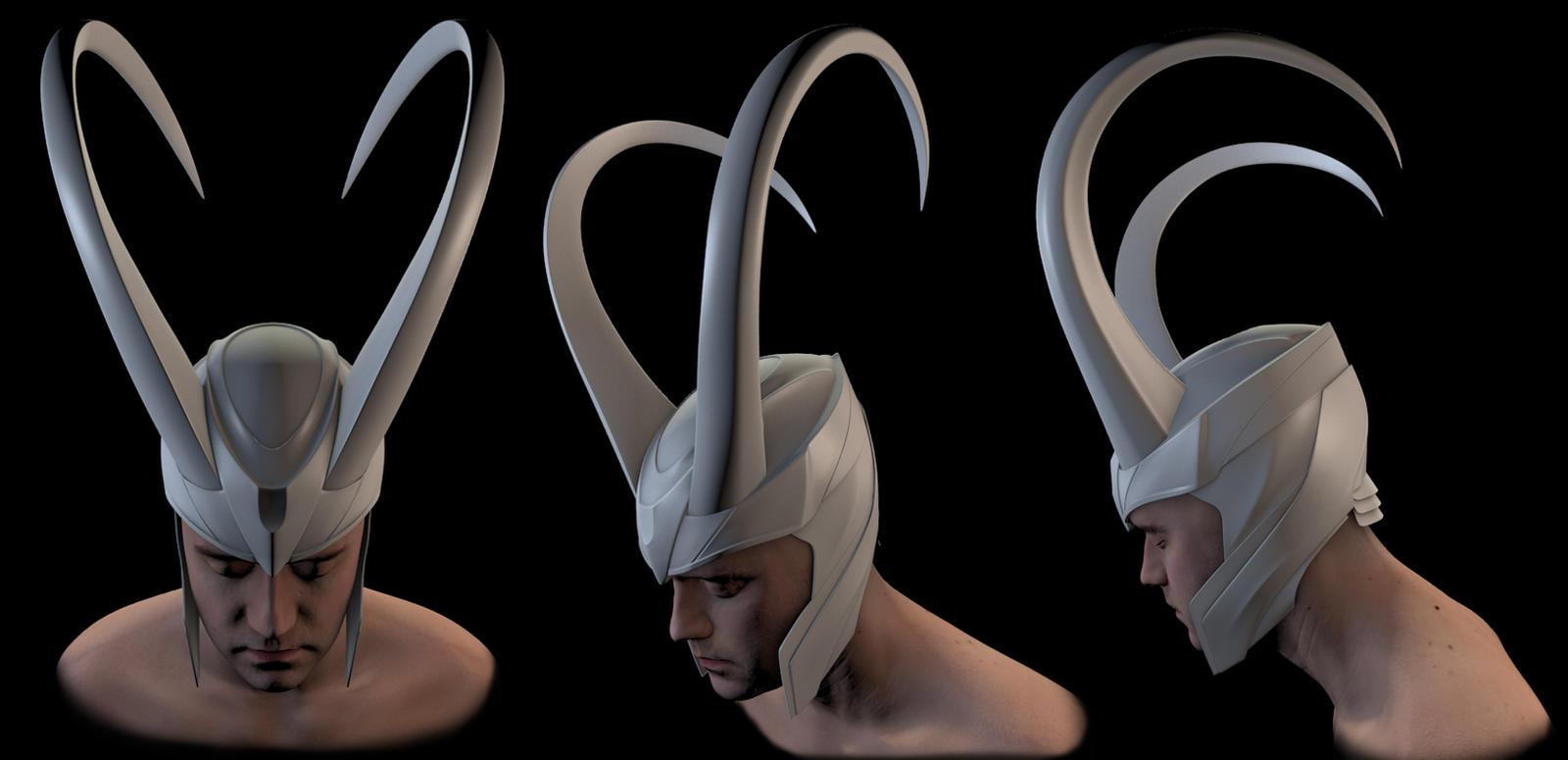 Как сделать шлем локи своими руками