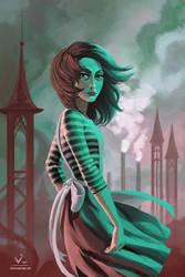 Alice Liddell by stevie-rae-drawn